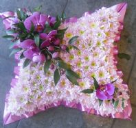 Purple Orchid Cushion